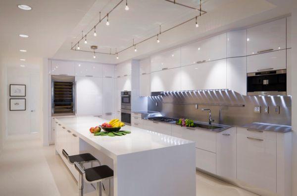 modern kitchen ceiling lights photo - 10
