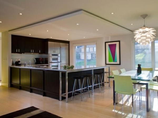 modern kitchen ceiling lights photo - 5