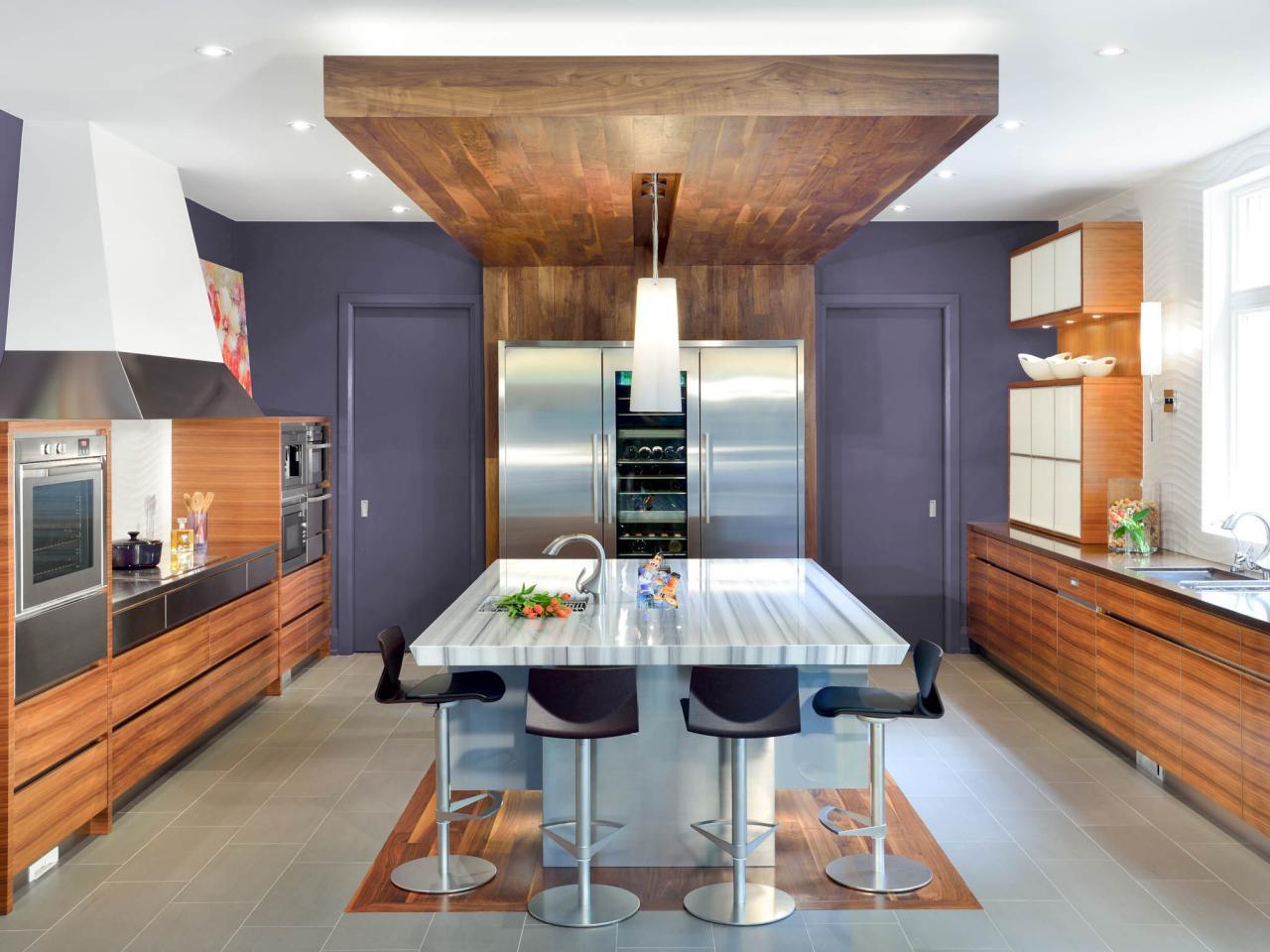 modern kitchen ceiling lights photo - 7