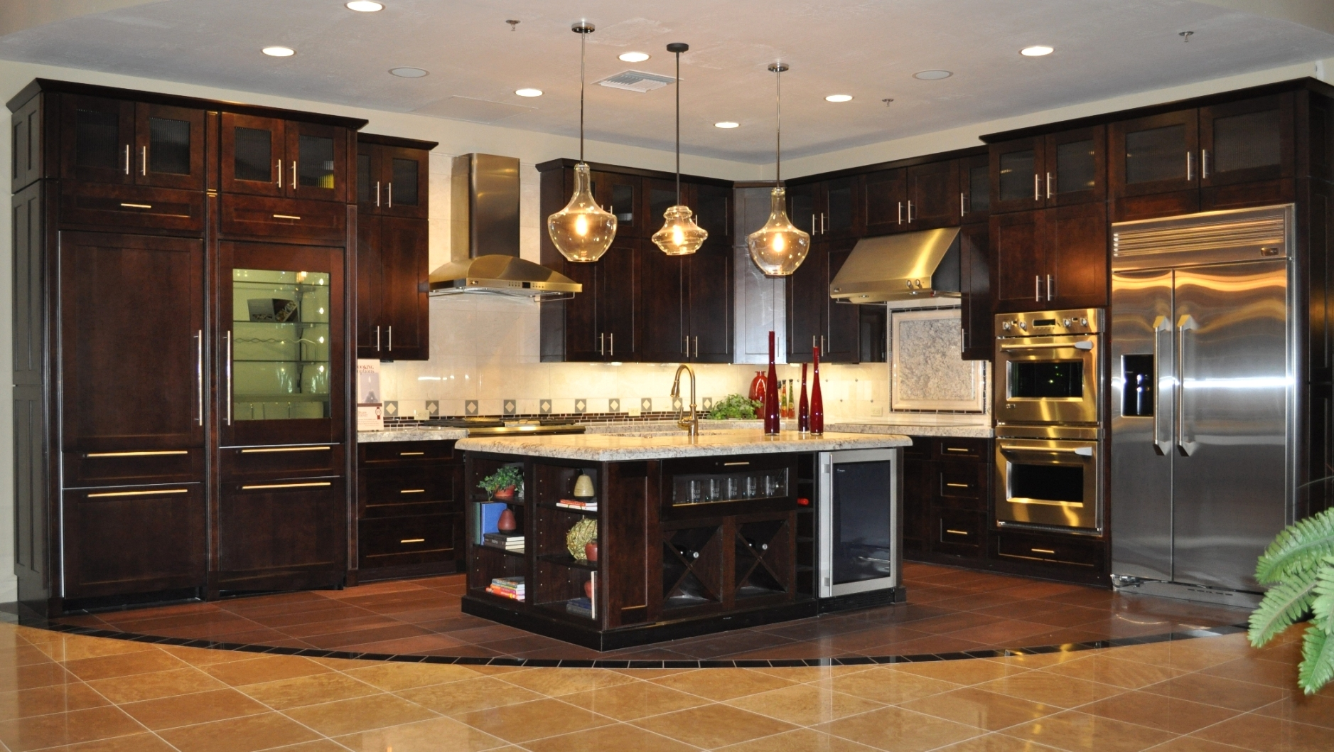 modern kitchen ceiling lights photo - 8