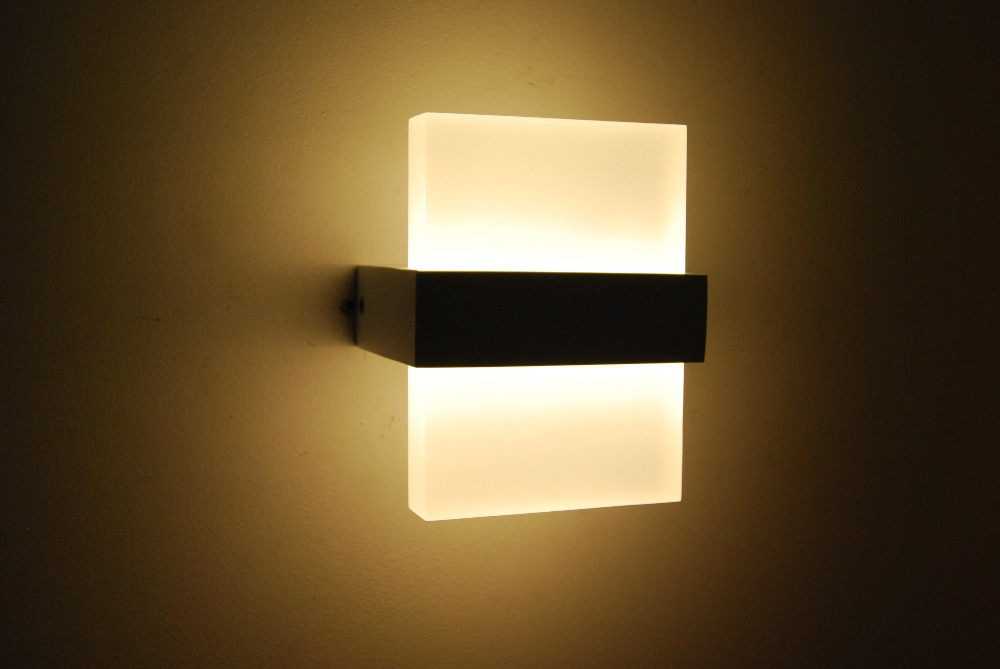 modern led wall lights photo - 2
