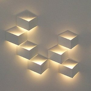 modern led wall lights photo - 3