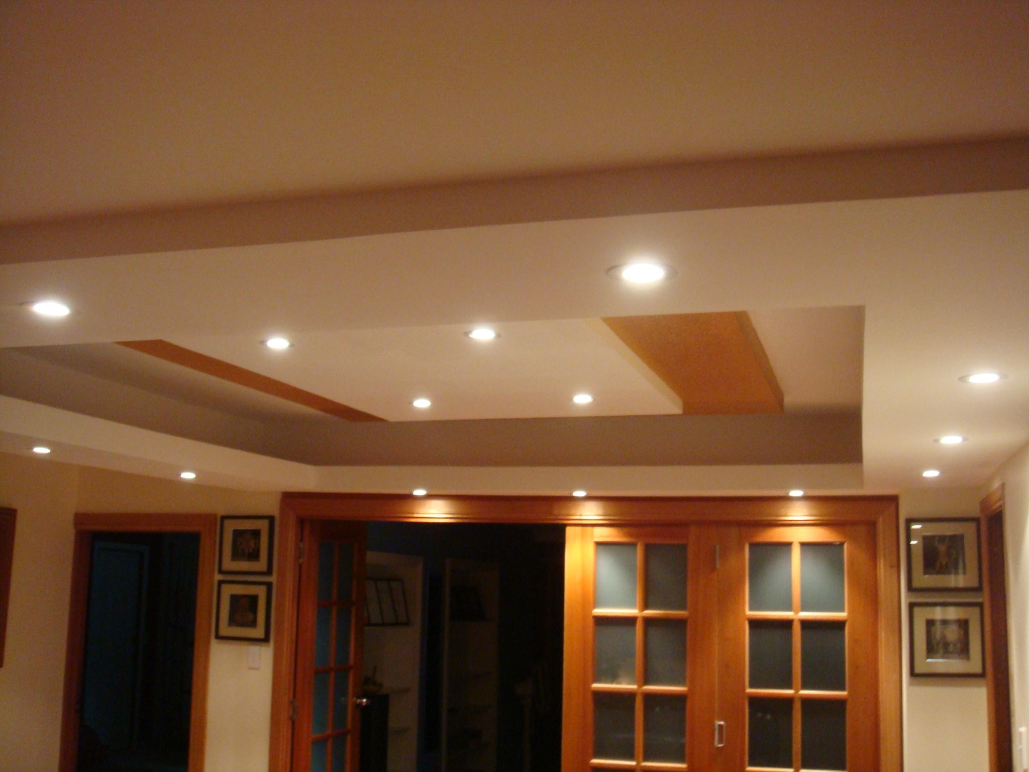 modern living room ceiling lights photo - 8