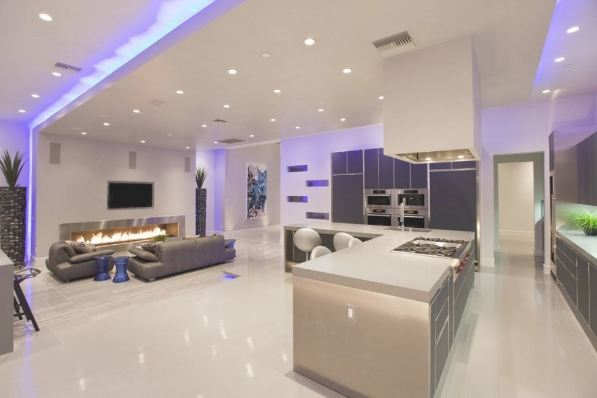 modern lounge ceiling lights photo - 10