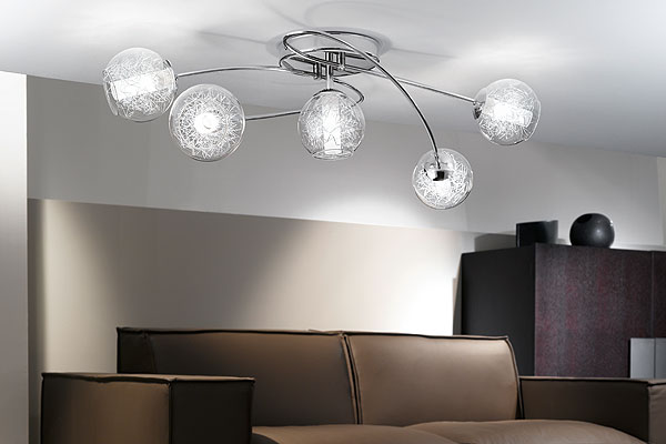 modern lounge ceiling lights photo - 4