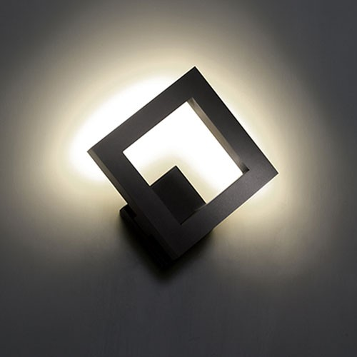 modern outdoor led wall lights photo - 1