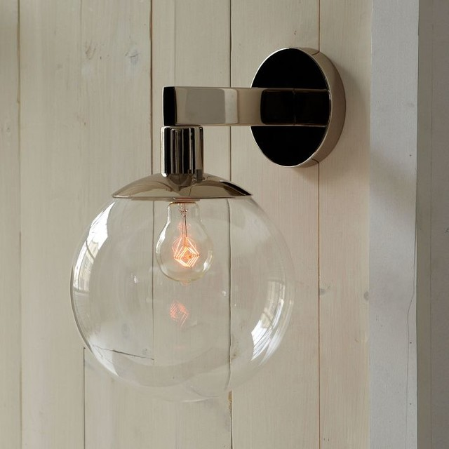 modern outdoor wall lights photo - 1