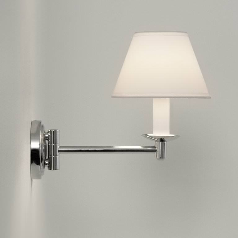 modern swing arm wall lamp photo - 4