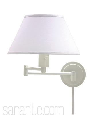 modern swing arm wall lamp photo - 9