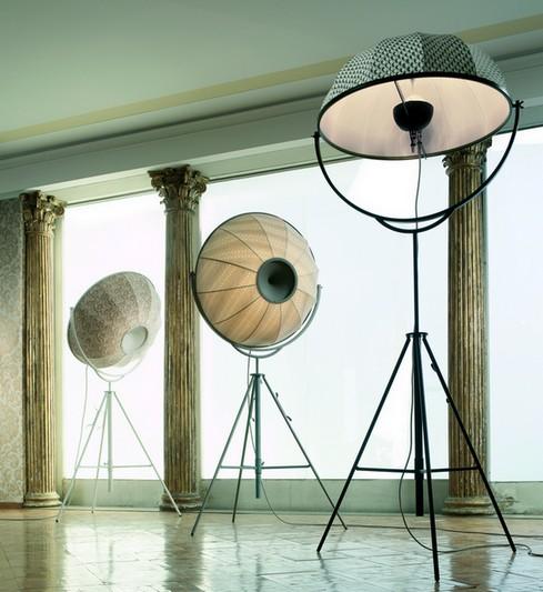 modern tripod floor lamp photo - 2
