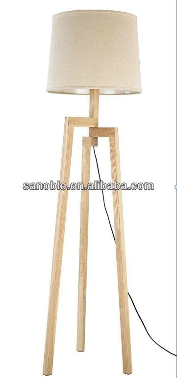 modern tripod floor lamp photo - 3