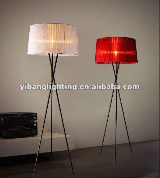 modern tripod floor lamp photo - 5