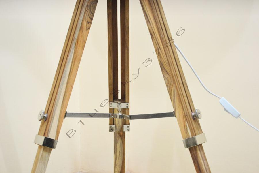 modern tripod floor lamp photo - 7