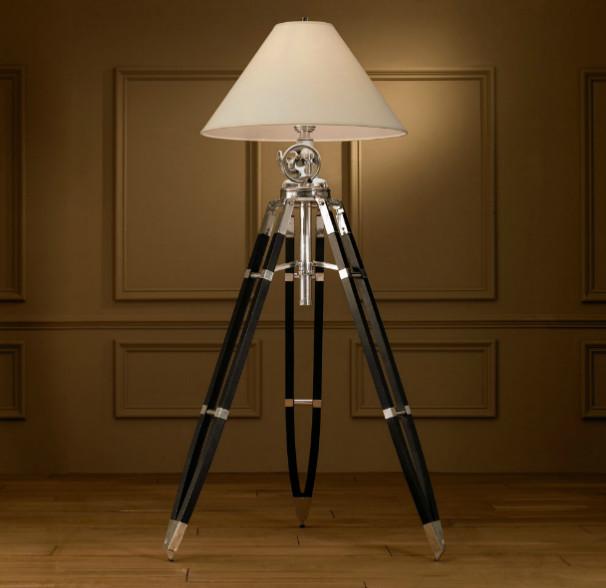 modern tripod floor lamp photo - 9