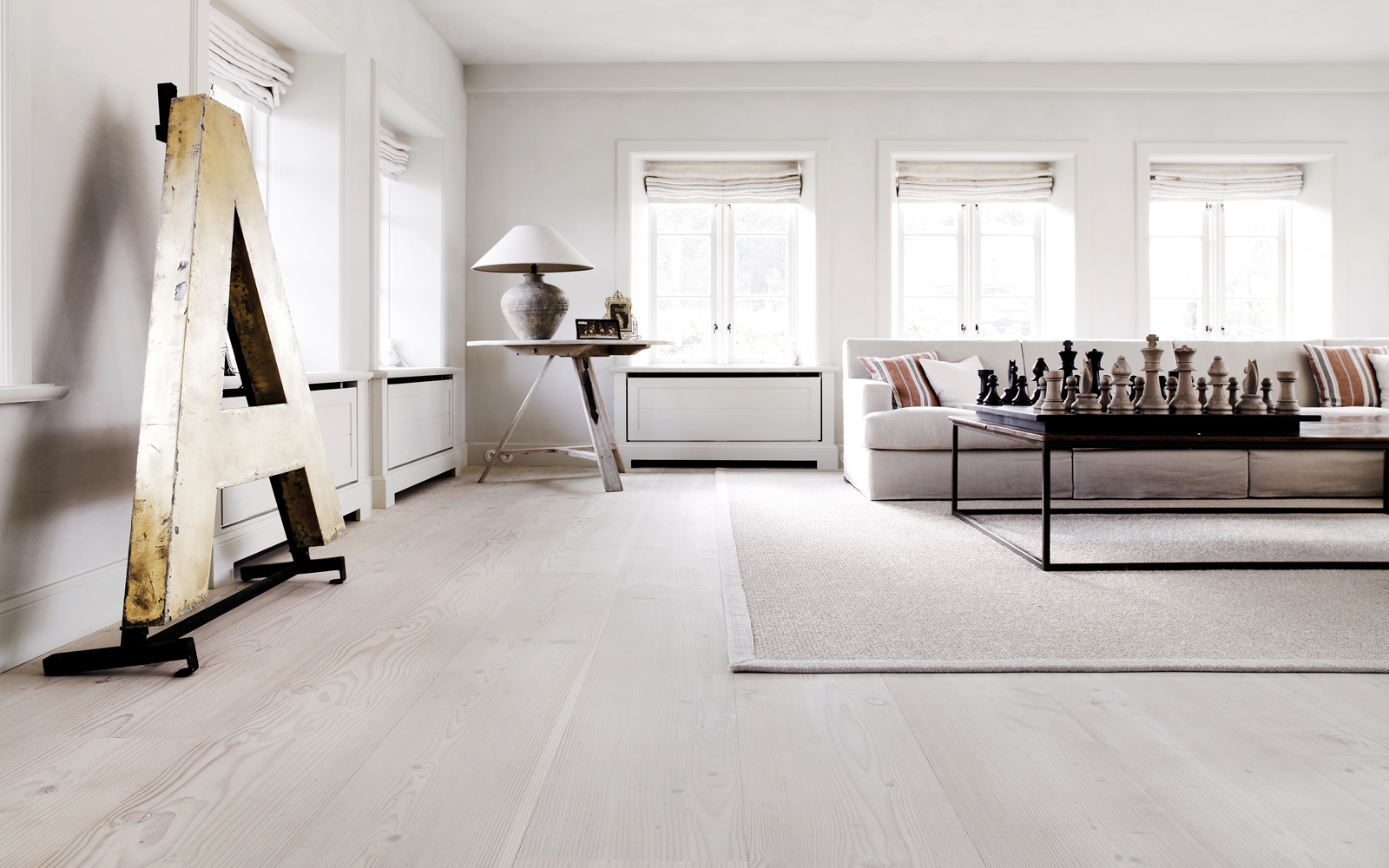 Unique Modern White Floors Gloss Look L For Decor