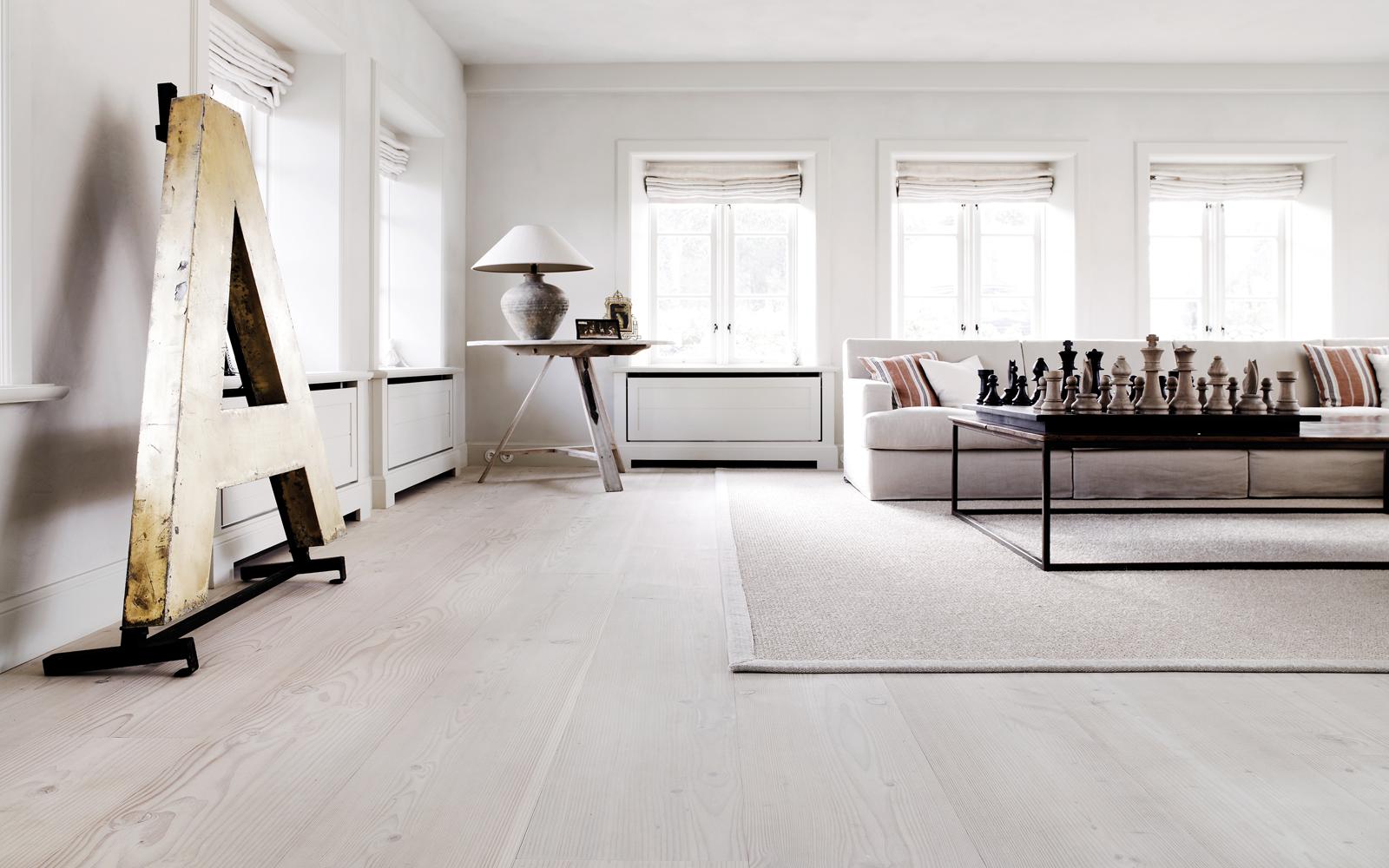 White Hardwood Floors Design Ideas - Home Design Ideas