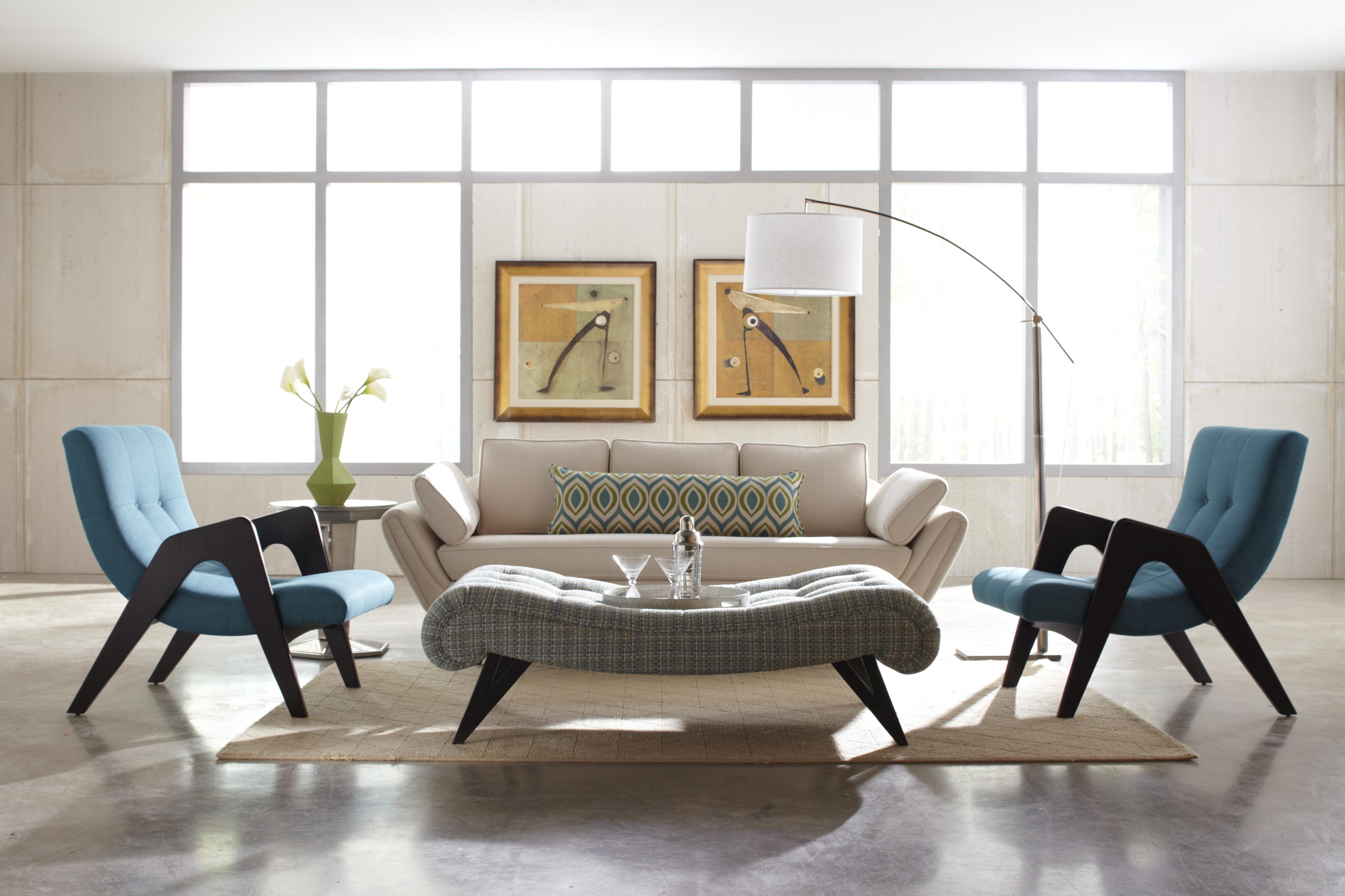 modern white floor lamp photo - 7
