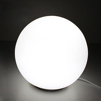 modern white table lamp photo - 10