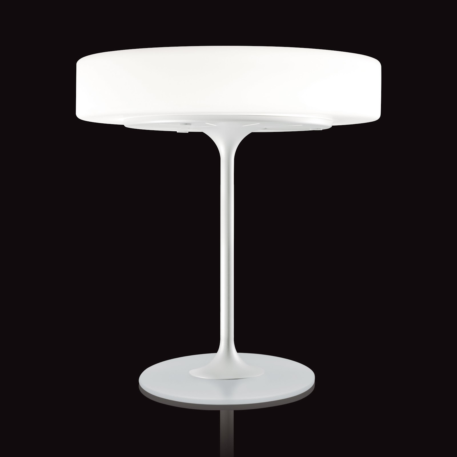 Modern white table lamp - enhance the style of your room ...