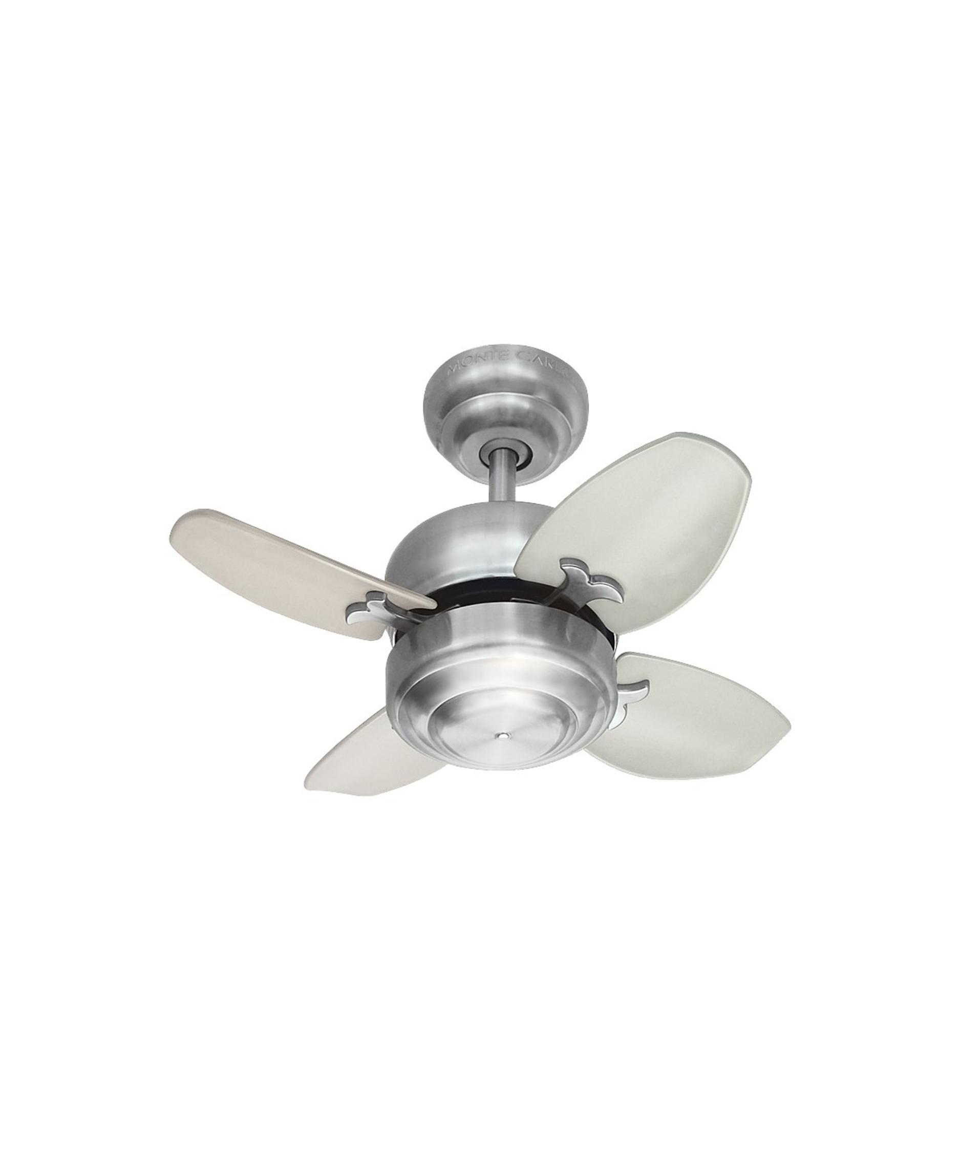 monte carlo mini ceiling fan photo - 2