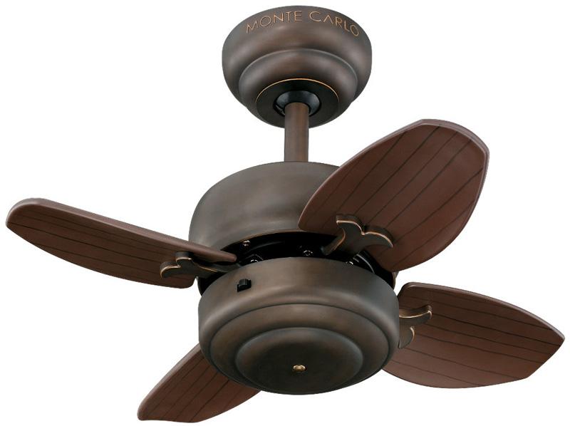 monte carlo mini ceiling fan photo - 4