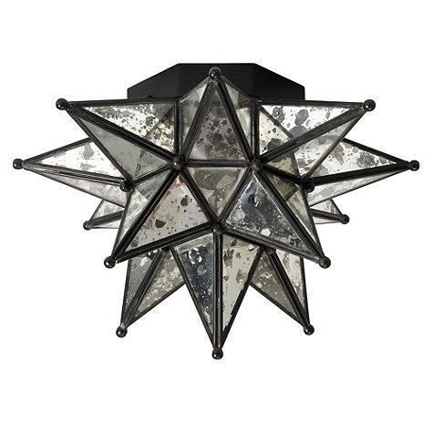 moravian star ceiling light photo - 10