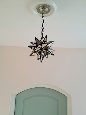 moravian star ceiling light photo - 7