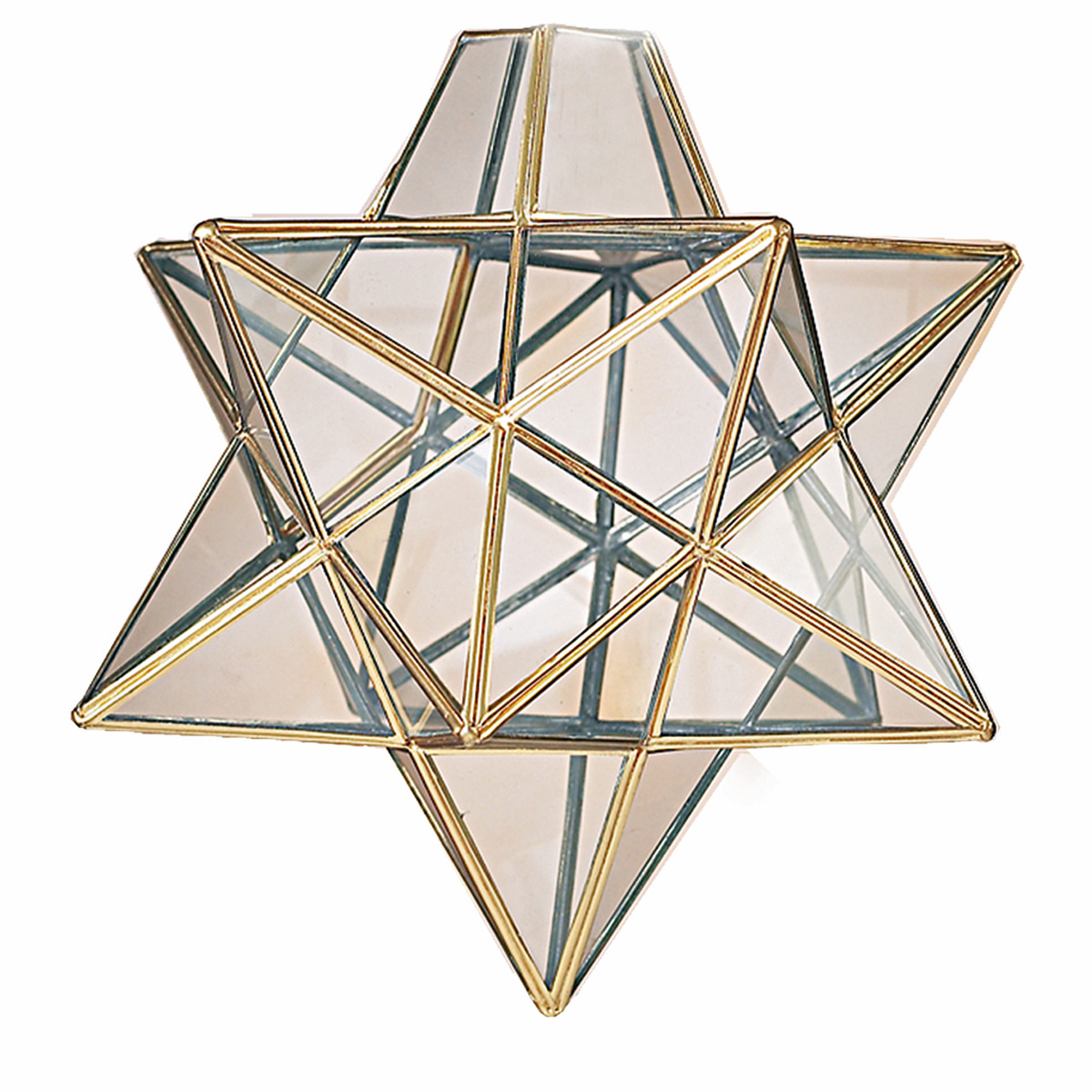 moravian star ceiling light photo - 9