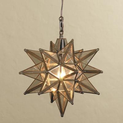 moravian star outdoor light photo - 1