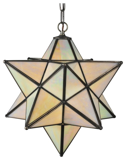 moravian star outdoor light photo - 10
