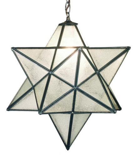 moravian star outdoor light photo - 4