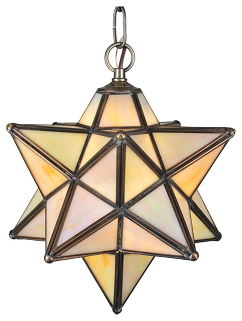 moravian star outdoor light photo - 5