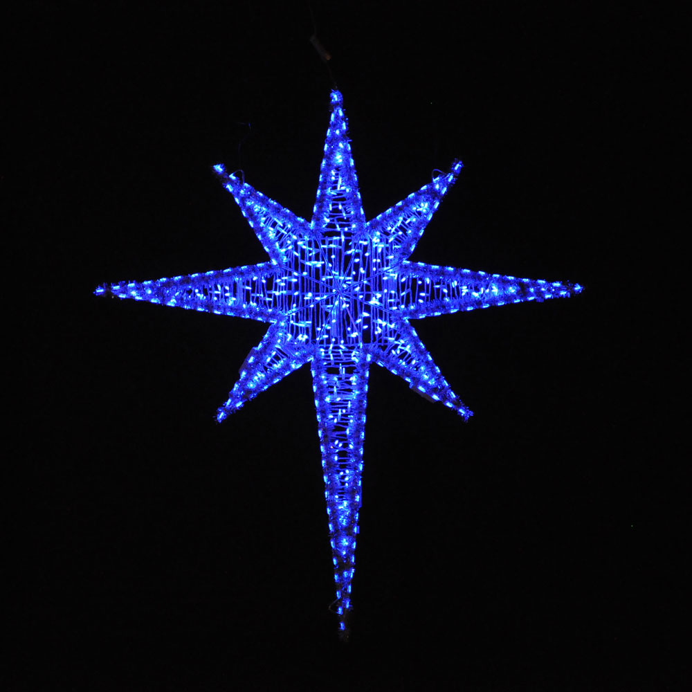 moravian star outdoor light photo - 7