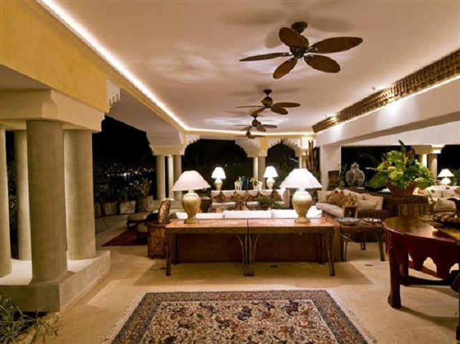 moroccan ceiling fan photo - 7