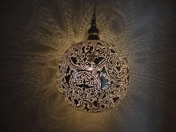 moroccan ceiling lights photo - 1