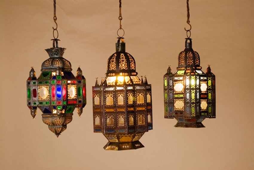 moroccan lamps photo - 3