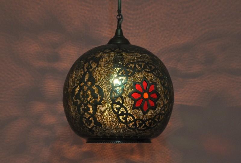 moroccan pendant lamp photo - 10