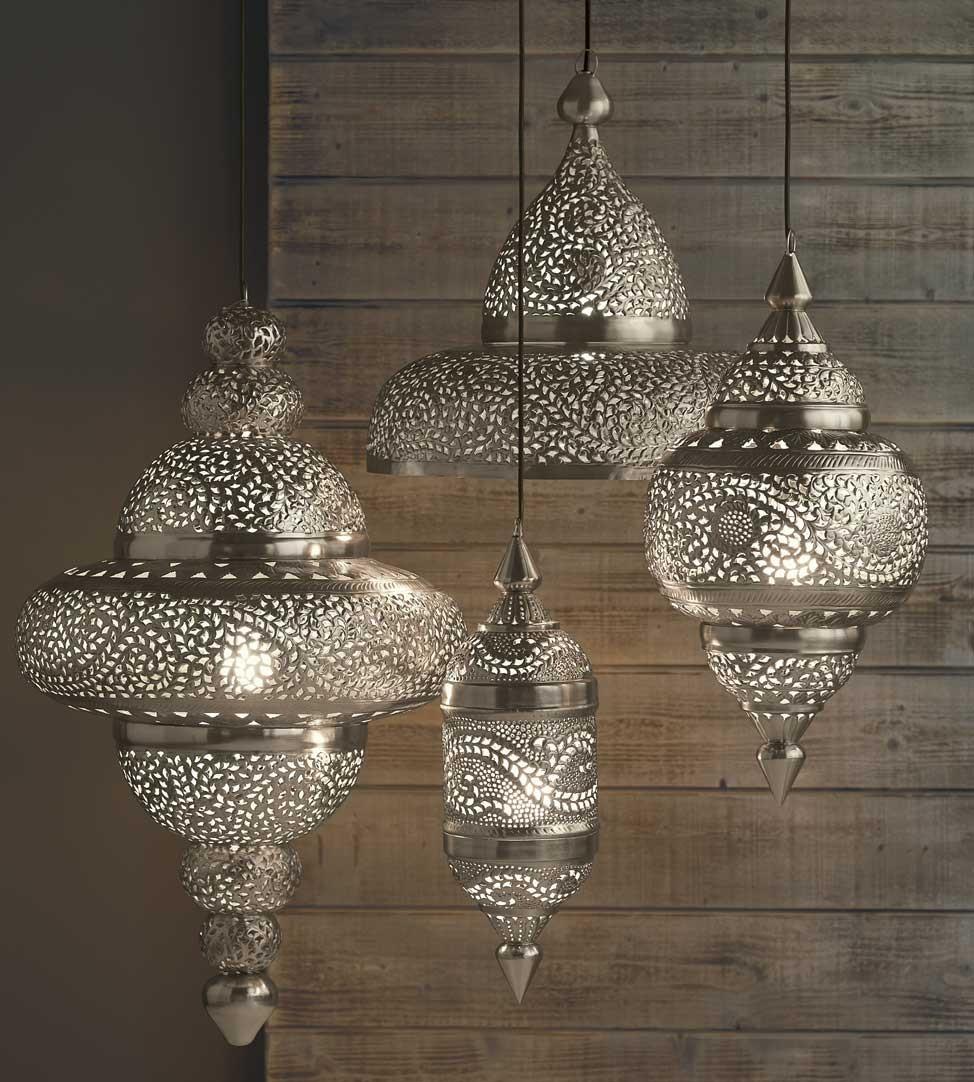 moroccan pendant lamp photo - 3