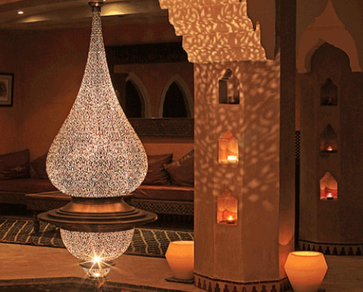 moroccan pendant lamp photo - 4