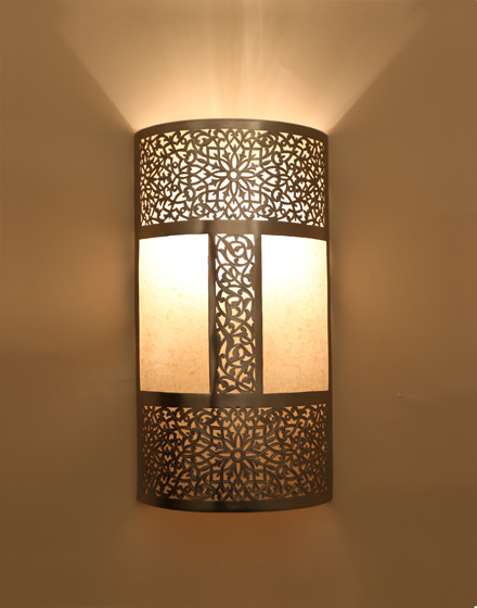 Moroccan wall lights - 10 ways to get an indication of culture and magnificence to your home ...