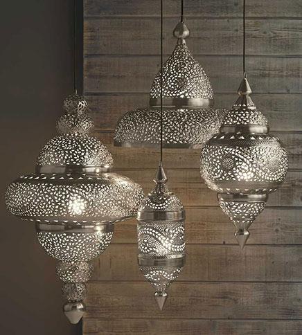 moroccan wall lights photo - 3