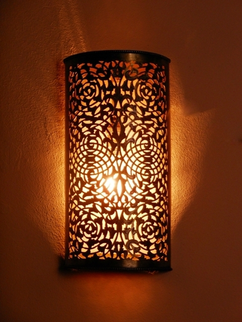 morrocan wall lights photo - 1