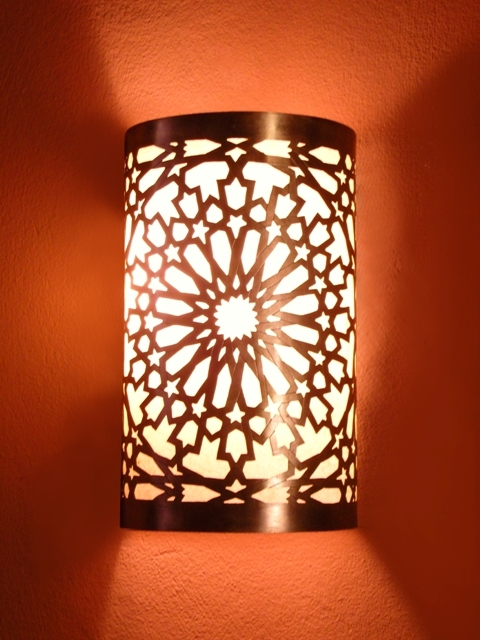morrocan wall lights photo - 3
