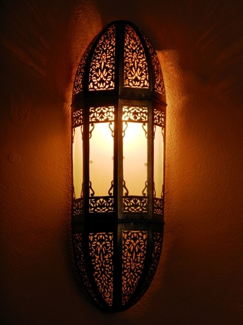 morrocan wall lights photo - 4