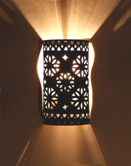 morrocan wall lights photo - 9