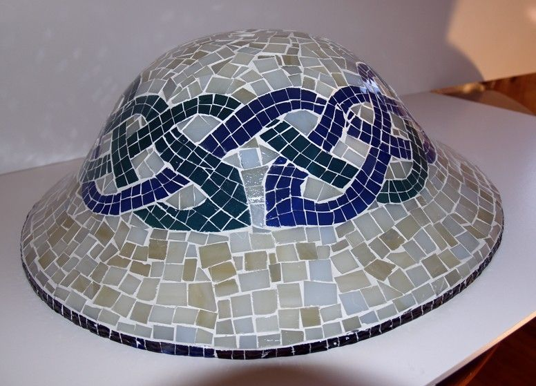 mosaic ceiling light photo - 7