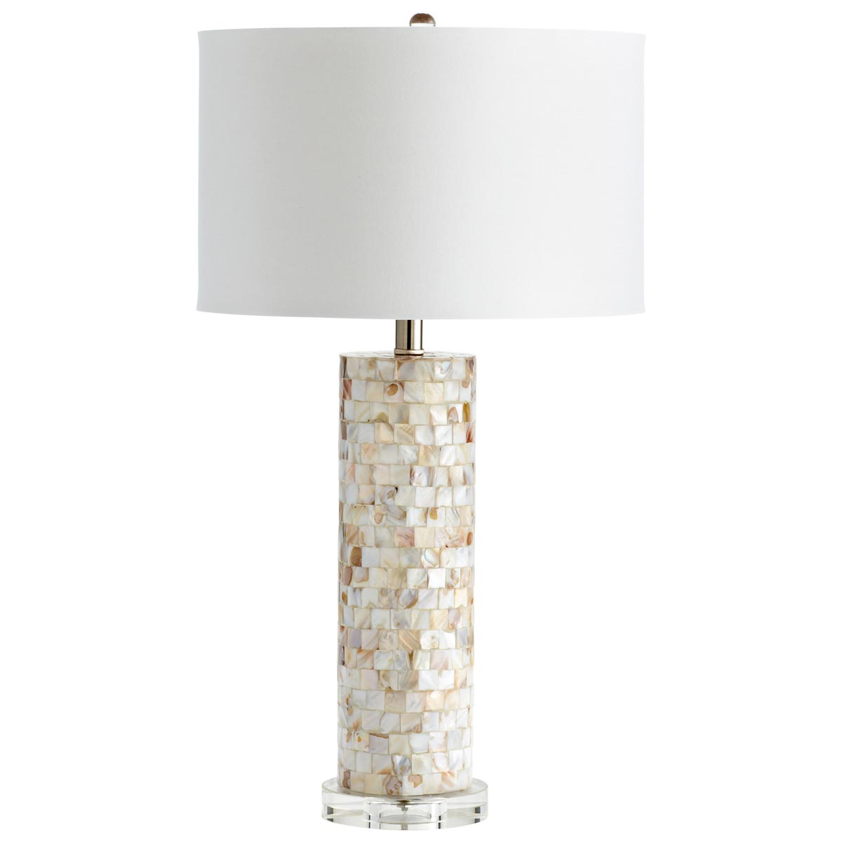 mother of pearl table lamps photo - 1