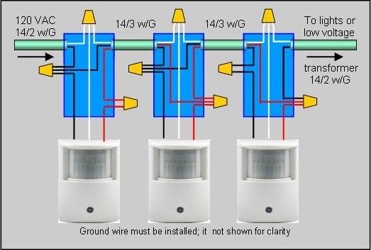Security Light Wiring Diagram Pir Wiring Diagrams And Schematics – Pir Wiring Diagram