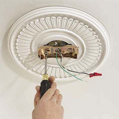 mounting a ceiling fan photo - 6
