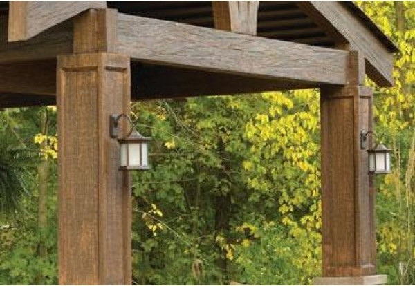 mounting outdoor lights photo - 3